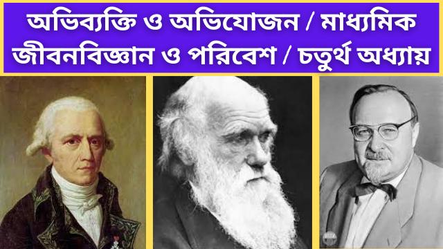 Evolution and adaptation-chapter 4-madhyamik Life Science