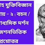 Proposition - Deductive - chapter 2- hs philosophy important mcq