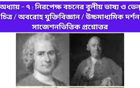 Boolean Interpretation And Venn Diagram - Deductive - chapter 7- hs philosophy important mcq